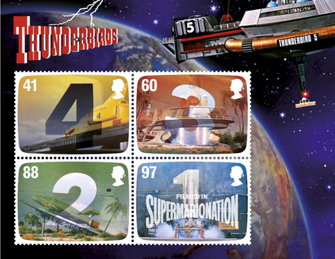 FAB: The Genius of Gerry Anderson miniature sheet