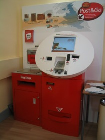 Post & Go machine, 2007 (Photographed by BPMA Curatorial department)