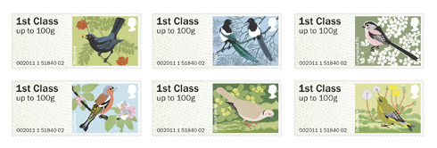 The second set of Post & Go stamps, issued 24 January 2011