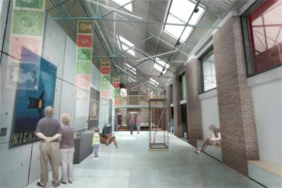 What the New Centre gallery might look like