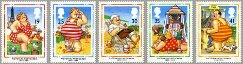 Centenary of Picture Postcards stamps, 1994