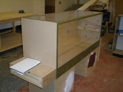 Prototype display case for Blists Hill