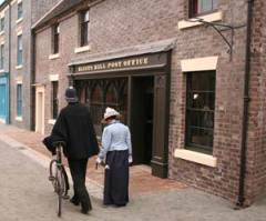The recreated Victorian Post Office at Blists Hill