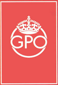 The logo of the General Post Office