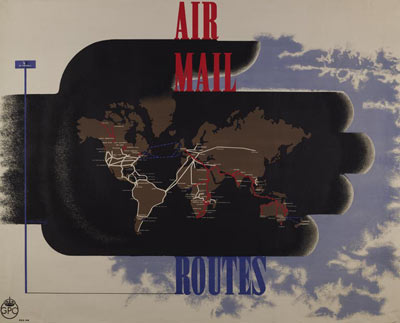 Airmail routes