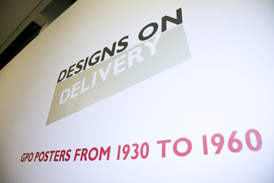 Designs on Delivery exhibition