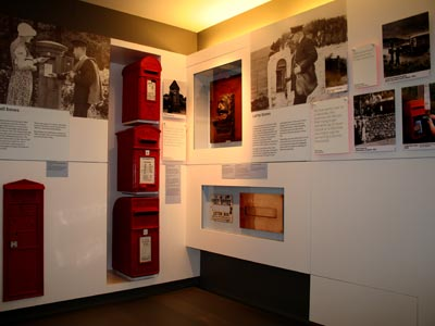 Letter Boxes display