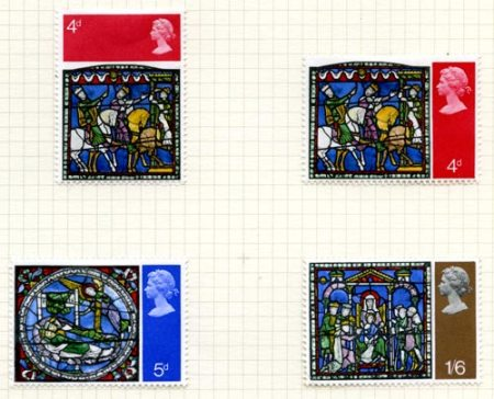Collis Clement's 1970 Christmas stamp designs