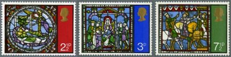 Collis Clement's 1971 Christmas stamps