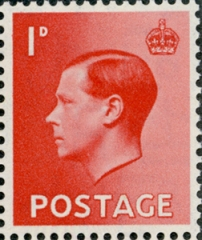 Edward VIII Accession issue, 1d