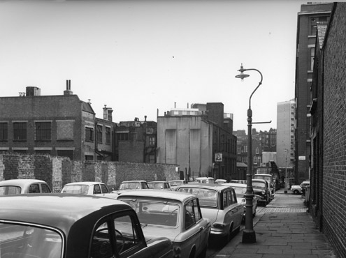 Gough Street, looking south towards Mount Pleasant, c.1960
