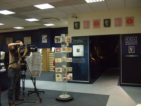 Filming for Y Goets Far at the BPMA
