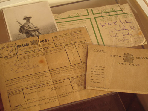 Letters sent by Royal Engineers during the war