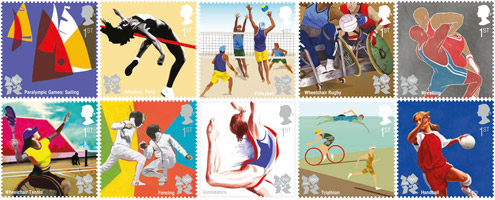 Final set of London 2012 stamps