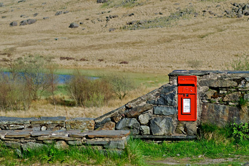 Post Boxed in Stone by Marfin