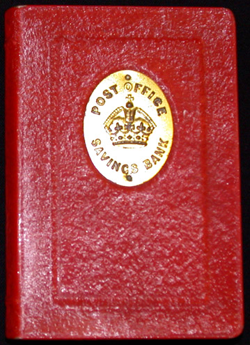 Red Taylor Law Book Home Safe (OB1994.320)