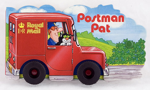 Postman Pat Book Toy (2002-616)