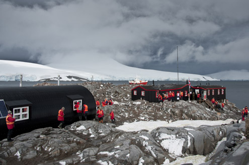 The Post Office, Antarctica by Dominique Brand