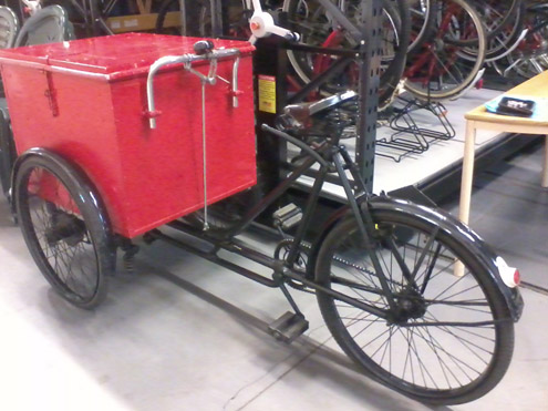 Our parcel tricycle