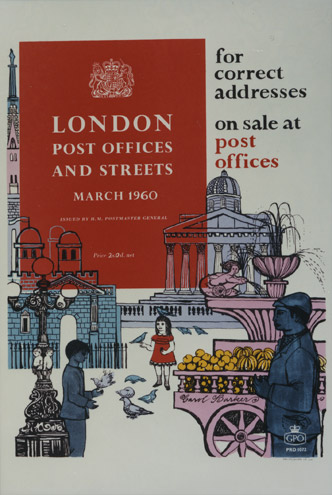 London Post Offices and Streets, 1960, Carol Barker (PRD1072)