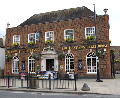 """The Last Post"", Loughton (c.1930) (architect Archibald Scott)"