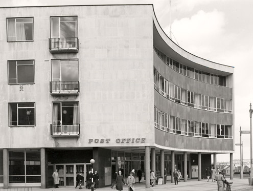Plymouth Post Office (1957) (architect Cyril Pinfold)