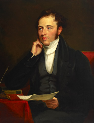'Sir Rowland Hill' – oil painting attributed to Mary M Pearson, 1836 (2004-0154)