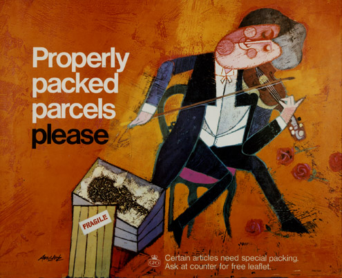 Properly packed parcels please, February 1965 (POST 110/2640)
