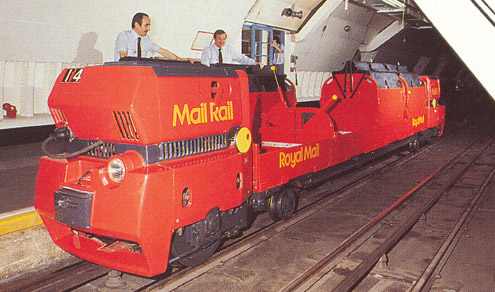 A Mail Rail Train, circa 1990s