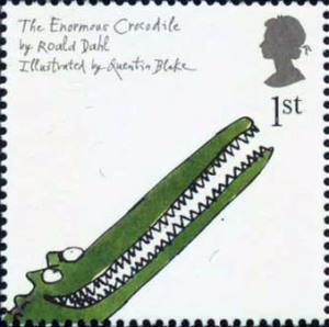 The Enormous Crocodile stamp, 2006