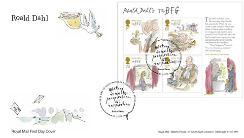 The BFG miniature sheet