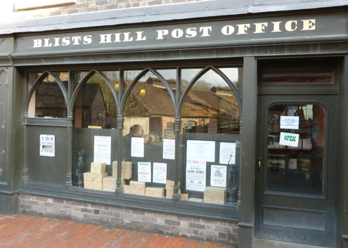 The Post Office at Blists Hill.