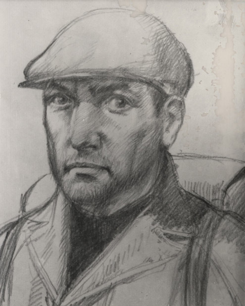Artist's impression of attacker of Gerald Arthur Smith, 1975. (POST 120/471)