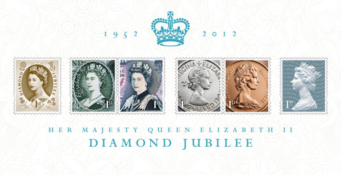 The Diamond Jubilee Miniature Stamp Sheet