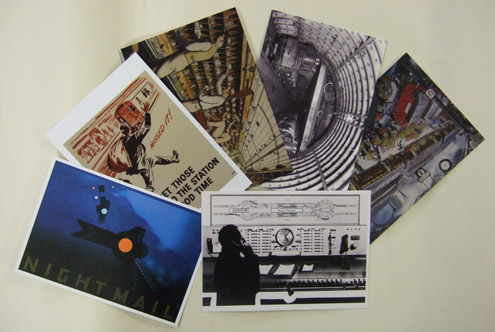 Mail Rail postcard pack