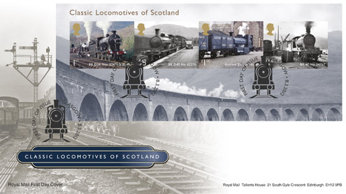 Classic Locomotives of Scotland