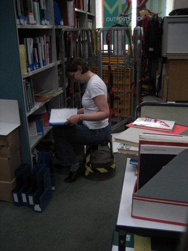 Sorting the staff reference library