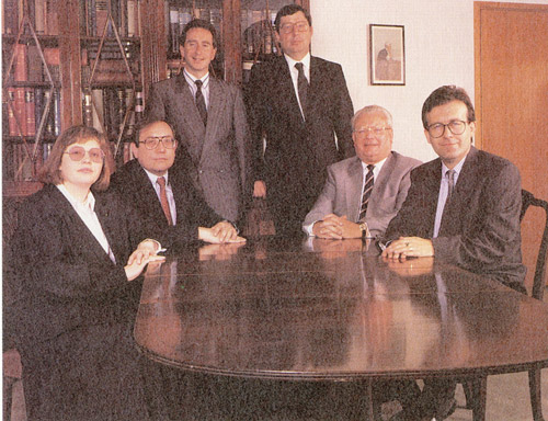 Solicitor's Department team photo, 1981 (POST 74)