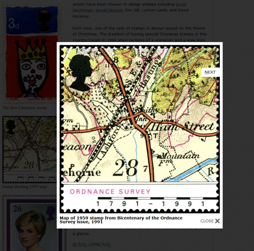 Make images larger in the British Postal History section