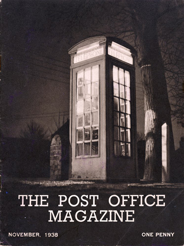 The Post Office Magazine, November 1938