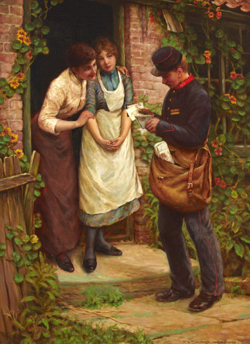 The Postman by Thomas Liddall Armitage (OBB 1997.5)