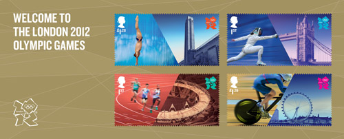 Welcome to the London 2012 Olympic Games miniature sheet