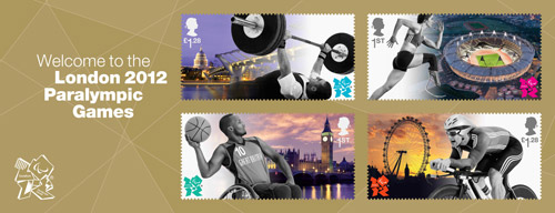 Welcome to the London 2012 Paralympic Games miniature sheet