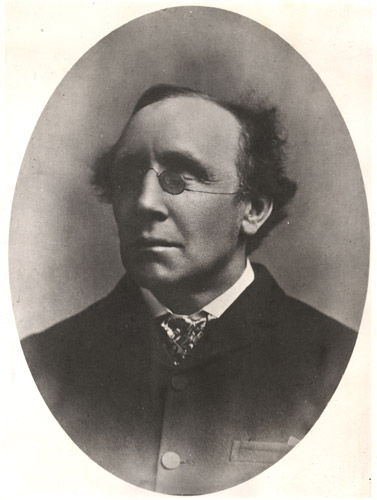 Henry Fawcett was accidentally blinded by a shotgun at the age of 25, but did not let his disability deter him. He became a Professor and a Member of Parliament, and served as Postmaster General from 1880 until his death in1884. (Image from BPMA Portfolio Collection)