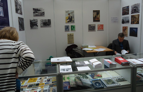 Friends of the BPMA stall.