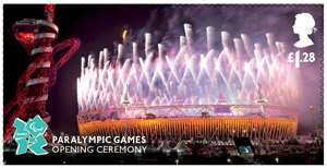 Memories of London - Paralympic Games Opening Ceremony stamp