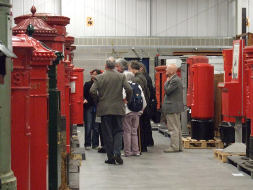 A life long learning group visits our Museum Store.