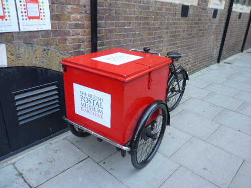 Victorian parcel tricycle.