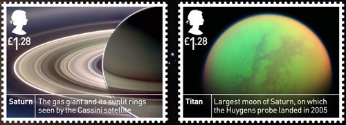 Space Science £1.28 stamps.