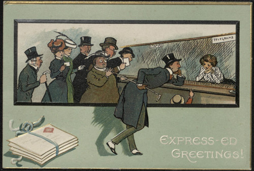 Raphael Tuck and Sons Christmas card, c.1900 (Acc. No. 2005-0101/3)